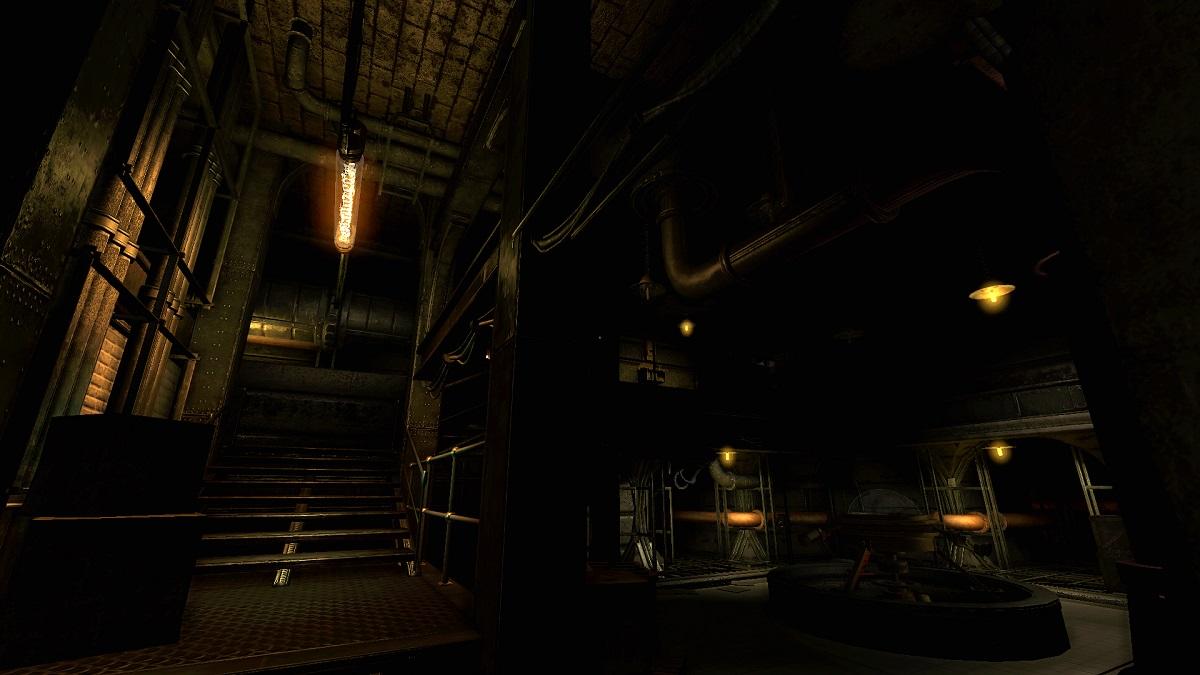 very industrial looking