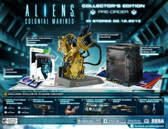 Announcing the Aliens: Colonial Marines Collector's Edition