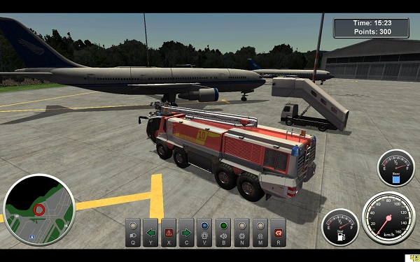 Airport Firefighter Simulator review for Windows