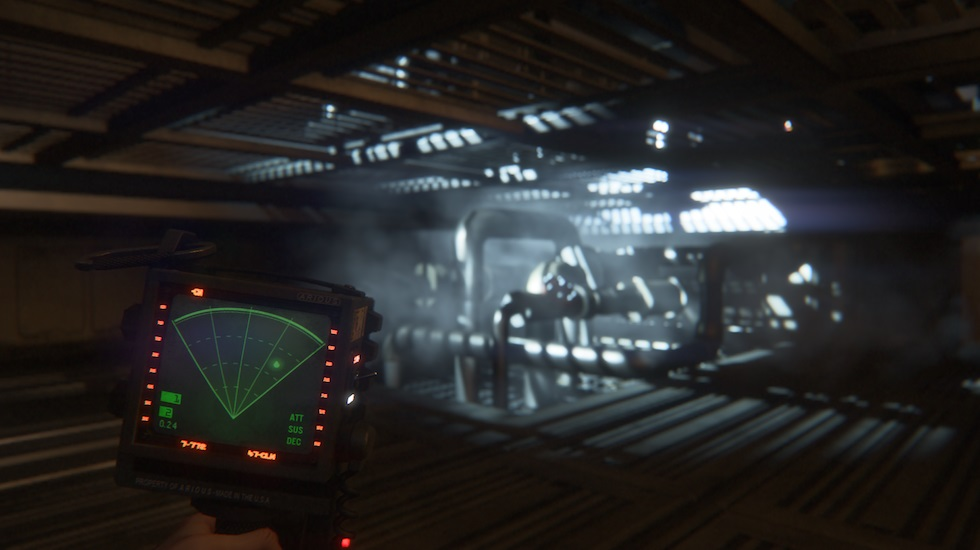 Alien isolation screenshot