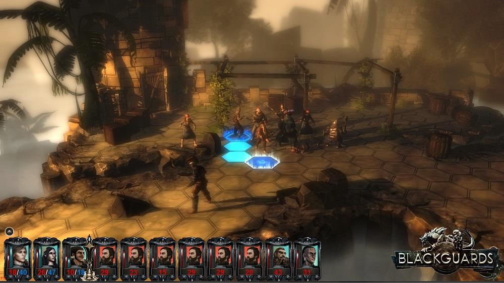 Blackguards turn based RPG