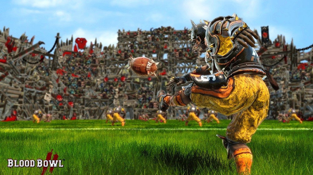 Kicking off in Blood Bowl II