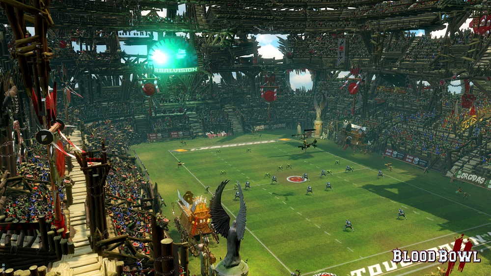 Expect even bigger stadiums in Blood Bowl II