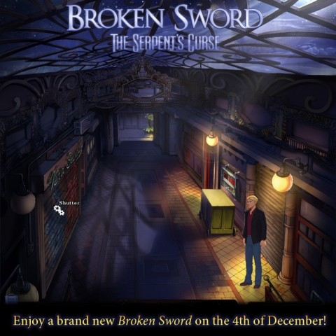 Broken Sword 5: The Serpent's Curse dated and split in two