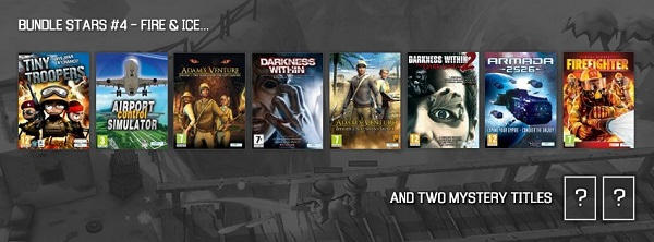 Get some fantastic new PC games in the Bundle stars Fire & Ice bundle!