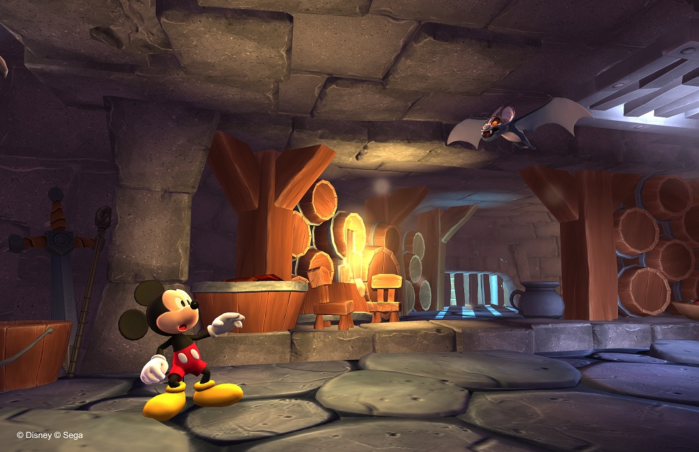 castle of illusion staring mickey mouse screenshot
