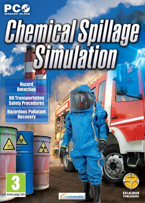 Send in the robot in our review of Chemical Spillage Simulator