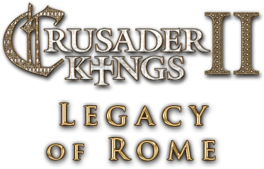 Crusader Kings II expanded with the Legacy of Rome