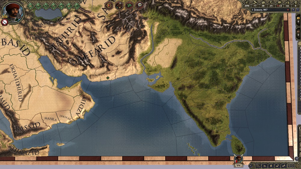 All the glory of India in Crusader Kings II