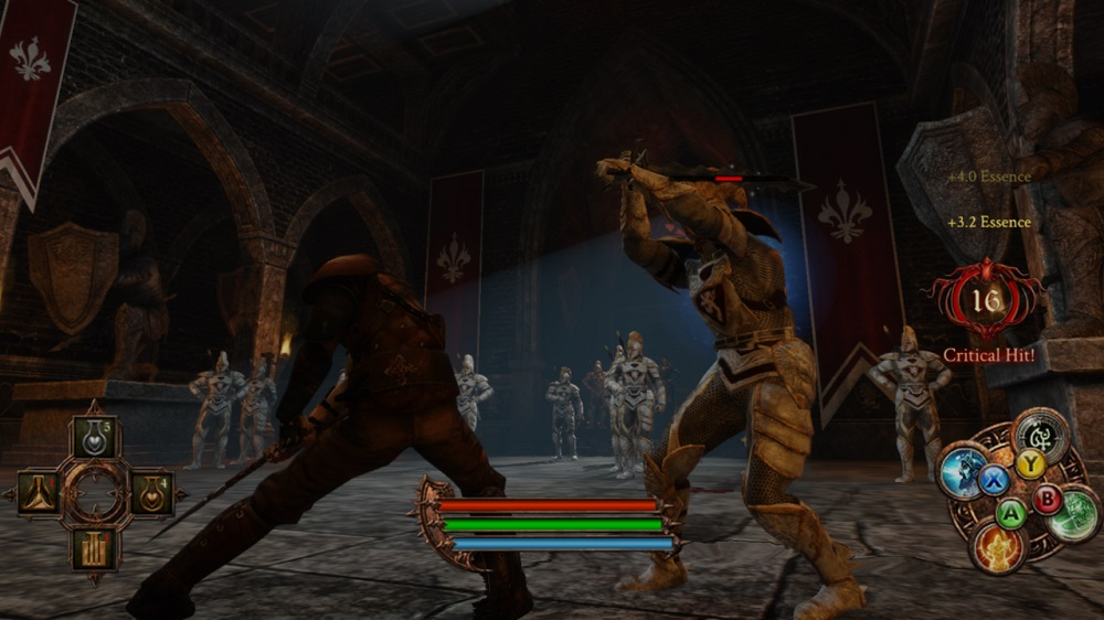 Good combat system in The Dark Eye - Demonicon