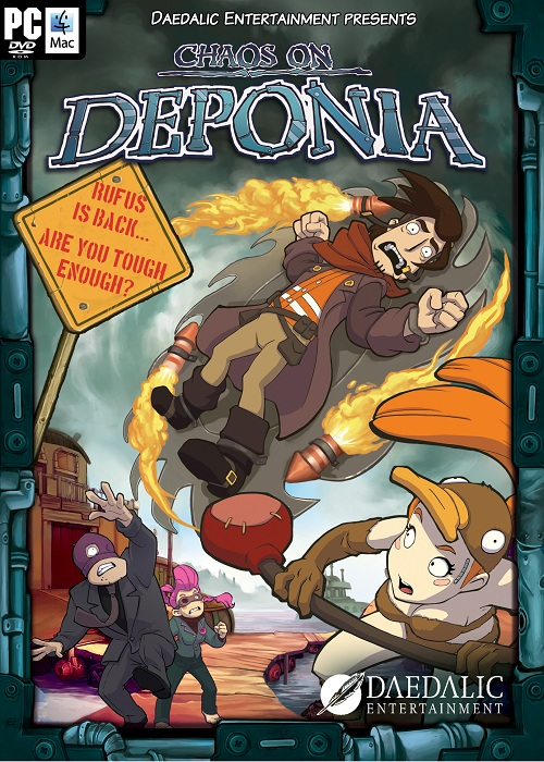 Huzzah for sequels in our review of Chaos on Deponia