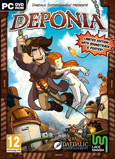 Fly me to Elysium in our review of Deponia