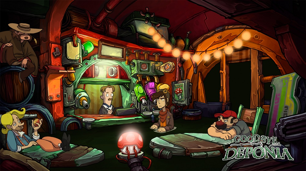little bit of a Mario reference in Goodbye Deponia