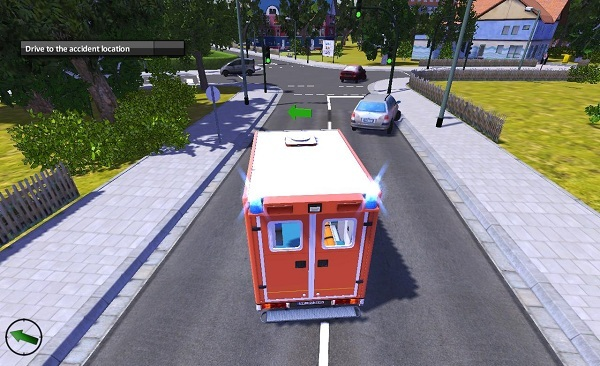 He's unresponsive in our review of Emergency Ambulance Simulator