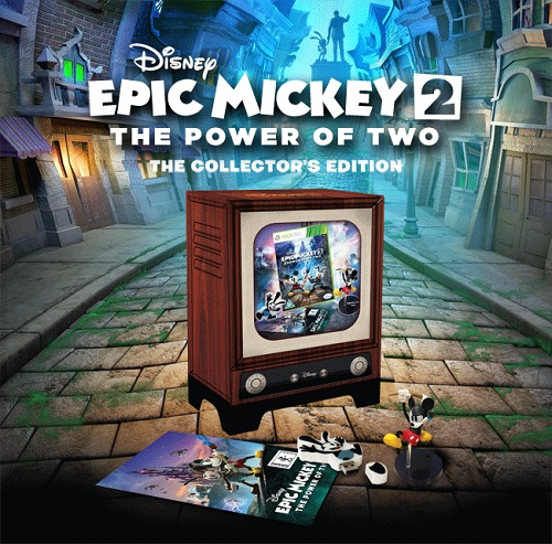 Check out the Epic Mickey 2: The Power of Two collector's edition