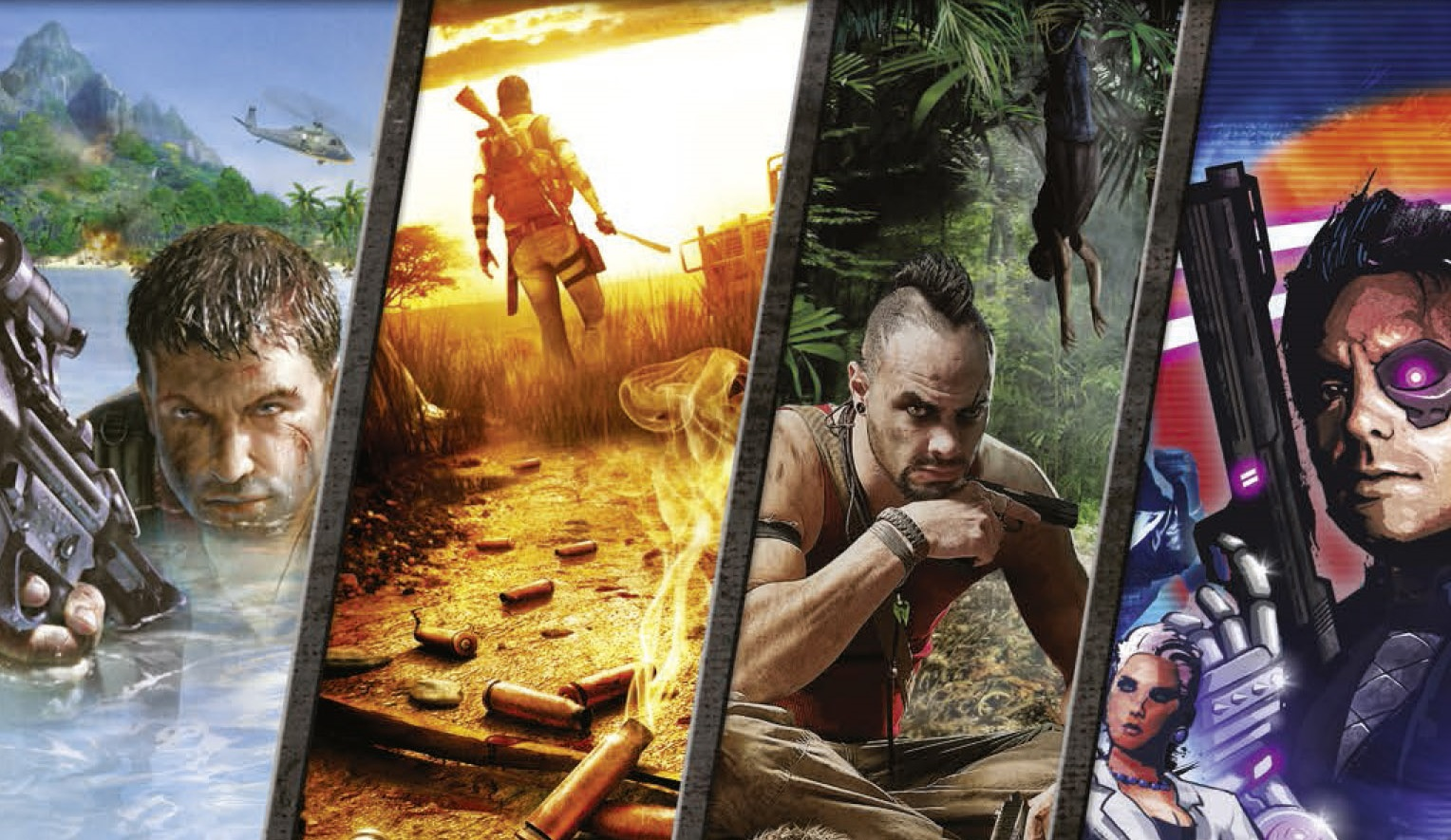 All the Far Cry games
