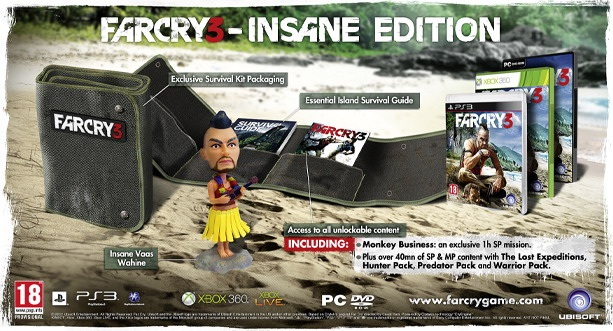 Pre-order the Far Cry 3 Collector's edition today!