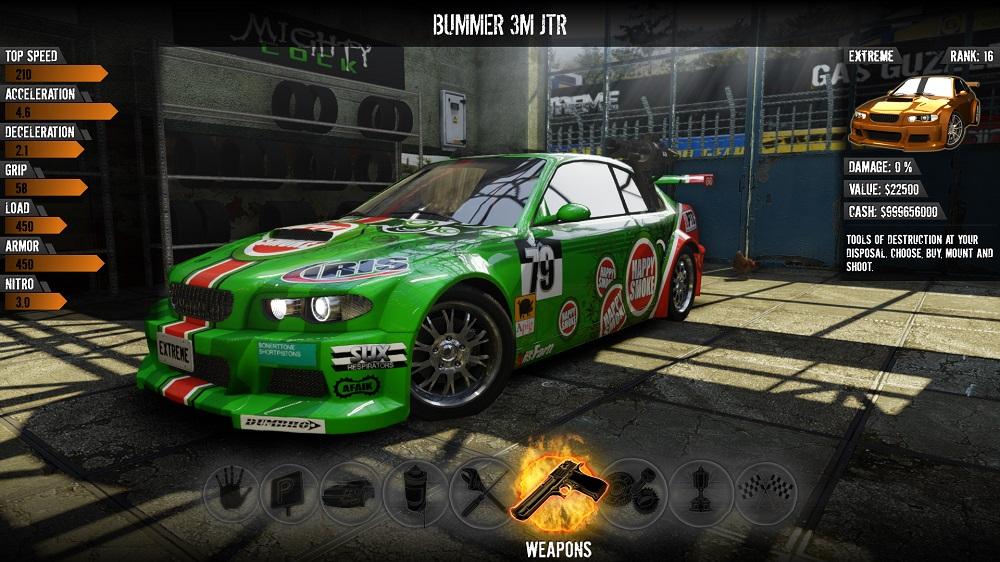 Gas Guzzlers Extreme garage