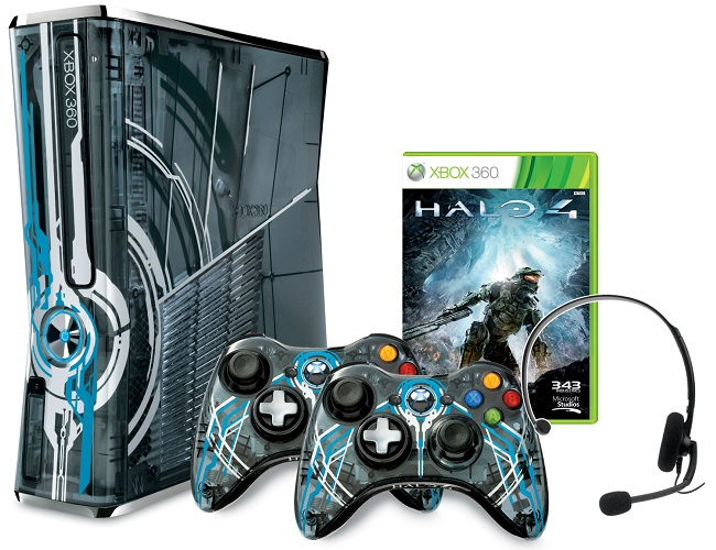 Check out the Halo 4 limited edition console