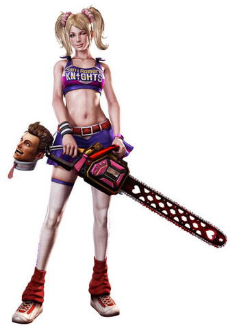 Feast your eyes on the voice talent in Lollipop Chainsaw