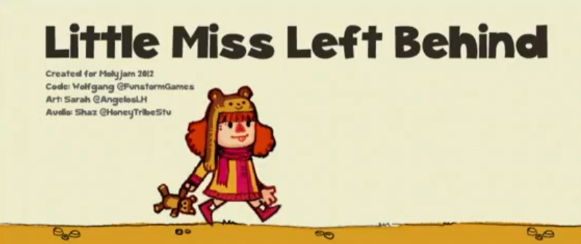 Discover the world of Molydeux in Little Miss Left Behind