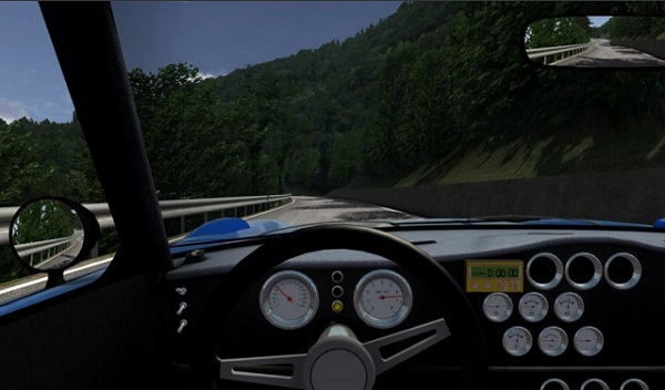 Driving a car in NKPro Racing