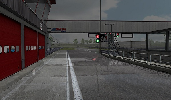 In the pitlane, NKPro Racing