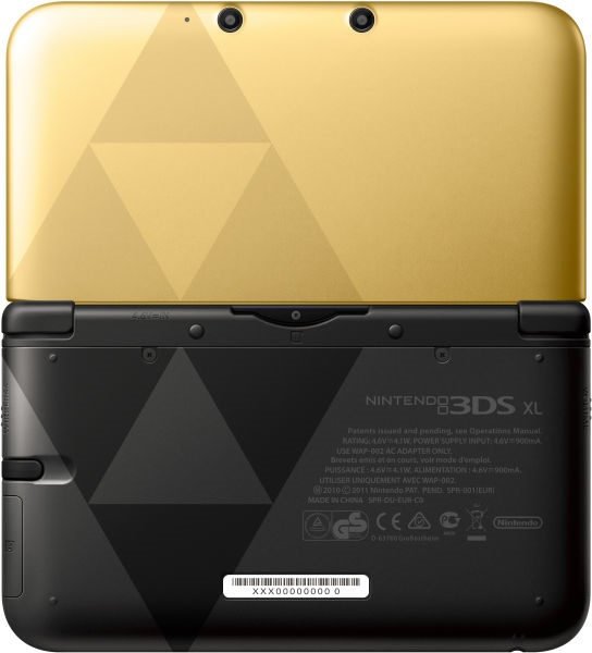 Zelda 3ds console
