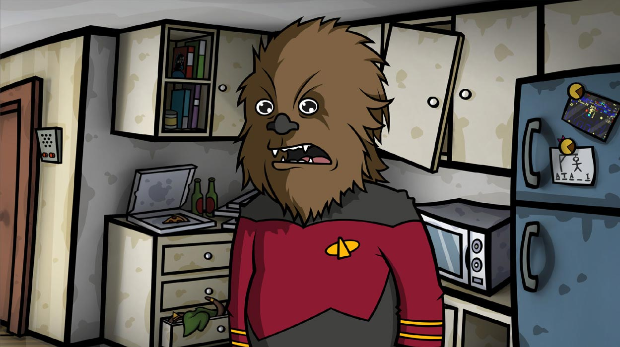 endulge in your geeky side with Randal's Monday