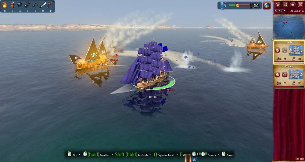Rise of Venice sea battle