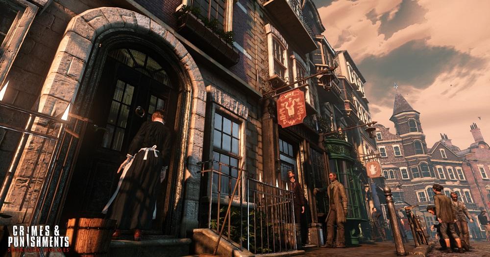 Sherlock Holmes Crimes and Punishments screenshot
