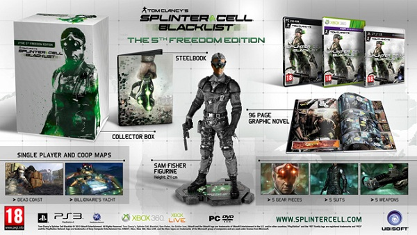 A whole host of Collector's Editions for Splinter Cell Blacklist