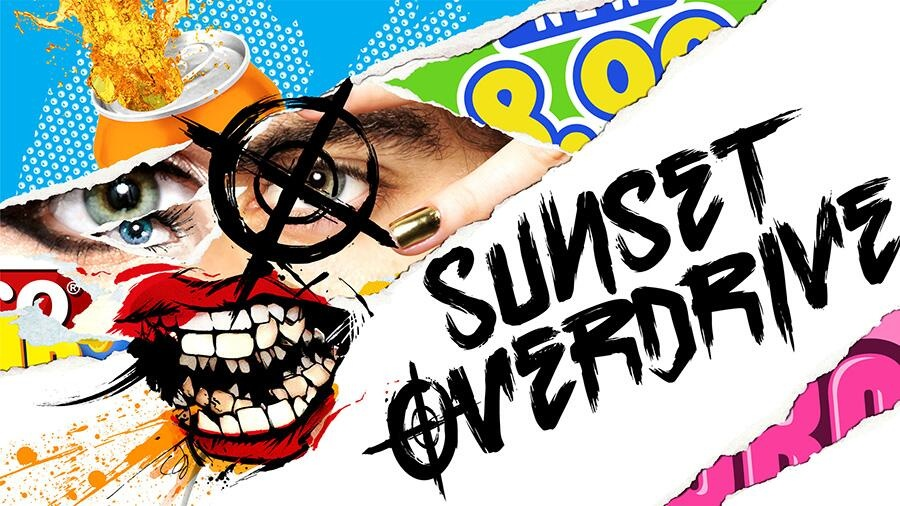 Welcome to the stylised world of Sunset Overdrive