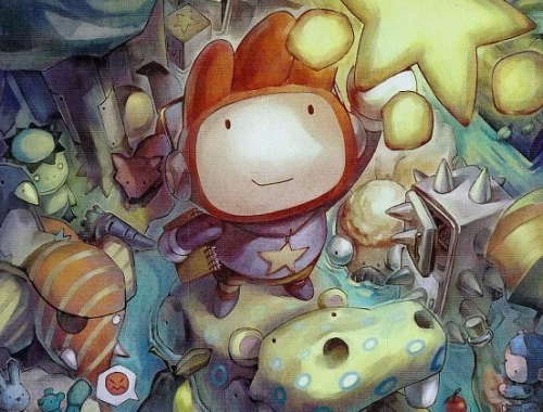 Scribblenauts 2 image from the cover of Nintendo Power