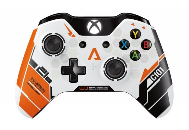 Check out the Titanfall Xbox One controller