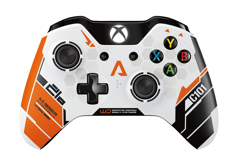 The lovely Titanfall controller