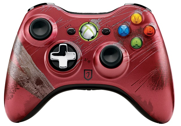 A limited edition Tomb Raider Xbox 360 controller