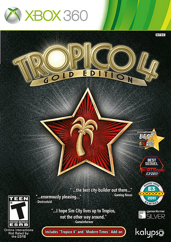 Get a little inspiration and rule your own island in the Tropico 4 Gold Edition