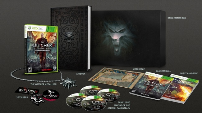 The Witcher 2: Assassins of Kings Dark Edition will be available at GAME!