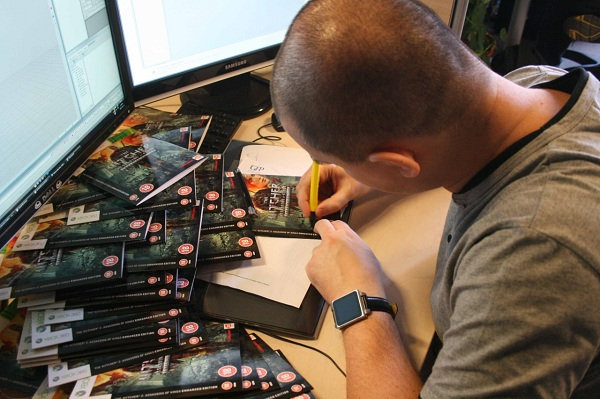 Would you like a signed copy of The Witcher 2: Assassins of Kings?