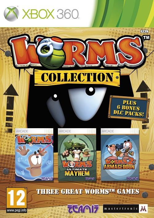 Worms Collection bringing the best worms games to one disc!