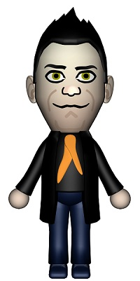 Mii Robbie Williams creeps me out a little