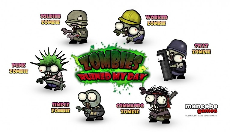 Oh no! Zombies Ruined My Day!