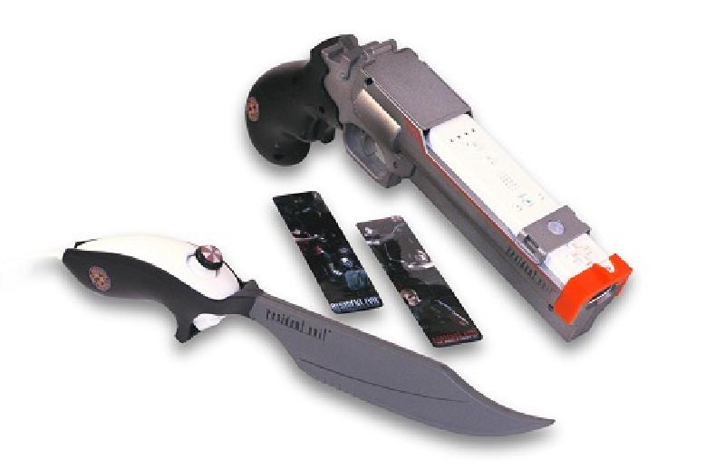 Featured image of post Check out the Resident Evil Magnum Blaster and Knife Wii Peripheral